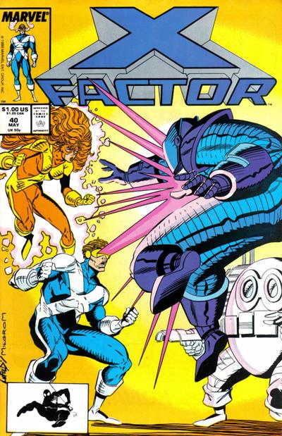 Cover for X-Factor (Marvel, 1986 series) #40 [Direct Edition]