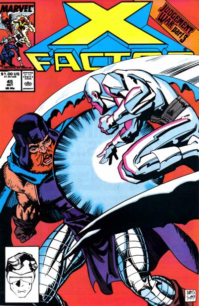 Cover for X-Factor (Marvel, 1986 series) #45 [Direct Edition]