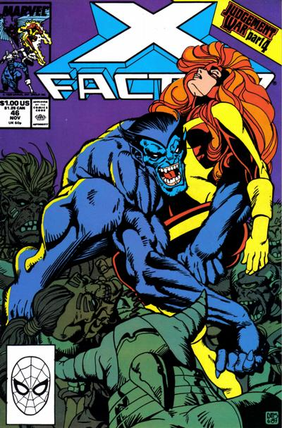 Cover for X-Factor (Marvel, 1986 series) #46 [Direct Edition]
