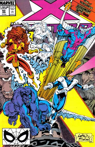 Cover for X-Factor (Marvel, 1986 series) #50 [Direct Edition]