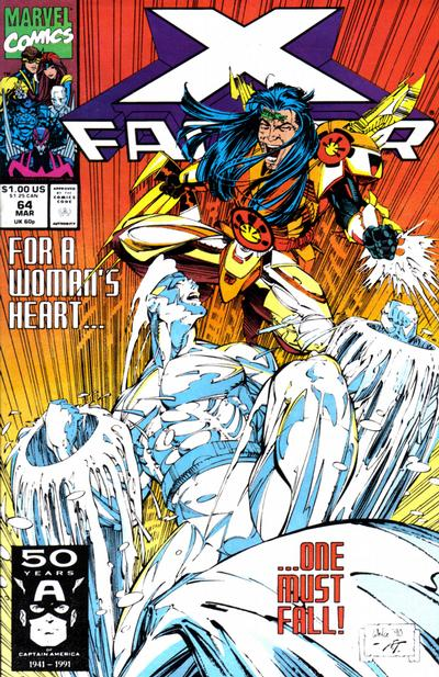 Cover for X-Factor (Marvel, 1986 series) #64 [Direct Edition]
