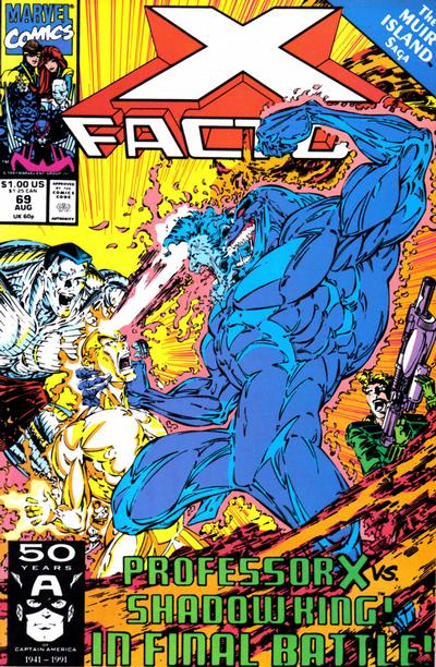Cover for X-Factor (Marvel, 1986 series) #69 [Direct Edition]