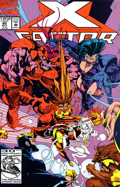 Cover for X-Factor (Marvel, 1986 series) #80 [Direct]