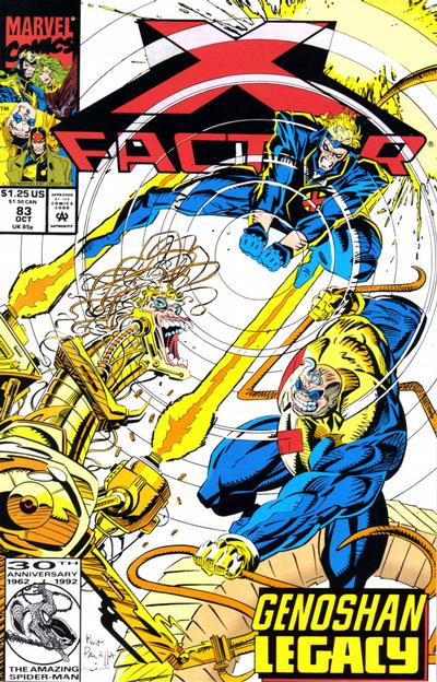Cover for X-Factor (Marvel, 1986 series) #83 [Direct Edition]