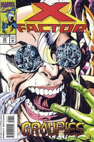 Cover for X-Factor (Marvel, 1986 series) #93 [Direct Edition]