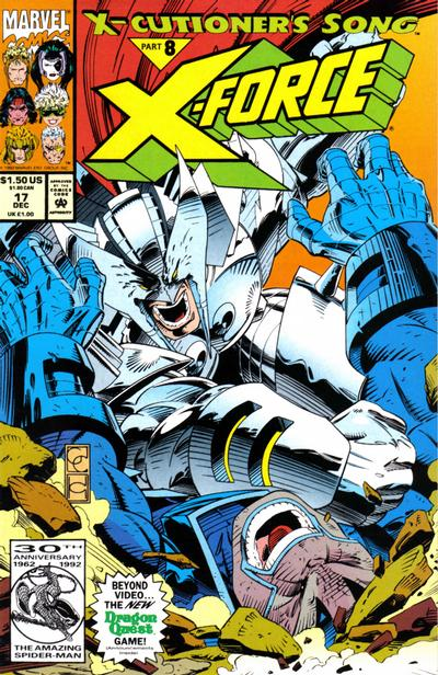 Cover for X-Force (Marvel, 1991 series) #17 [Direct]