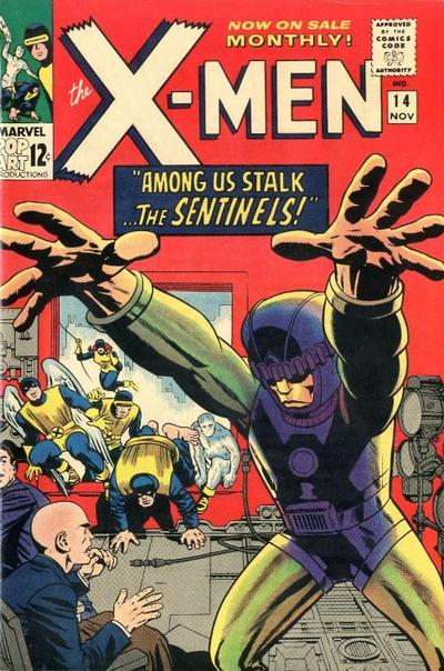 Cover for The X-Men (Marvel, 1963 series) #14