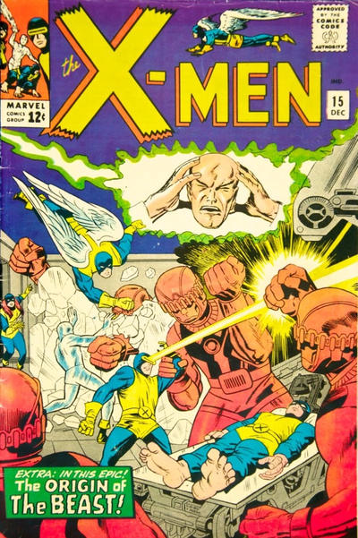 Cover for The X-Men (Marvel, 1963 series) #15