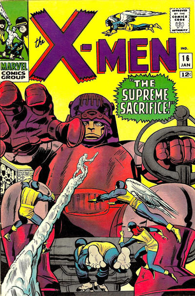 Cover for The X-Men (Marvel, 1963 series) #16