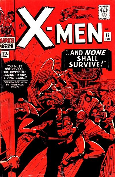 Cover for The X-Men (Marvel, 1963 series) #17