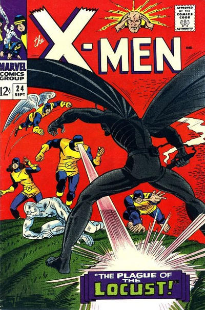 Cover for The X-Men (Marvel, 1963 series) #24
