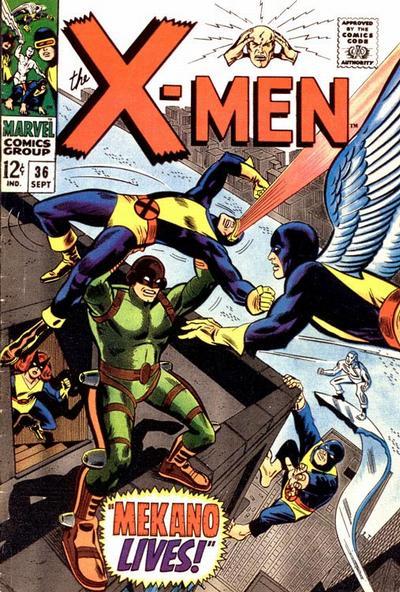 Cover for The X-Men (Marvel, 1963 series) #36