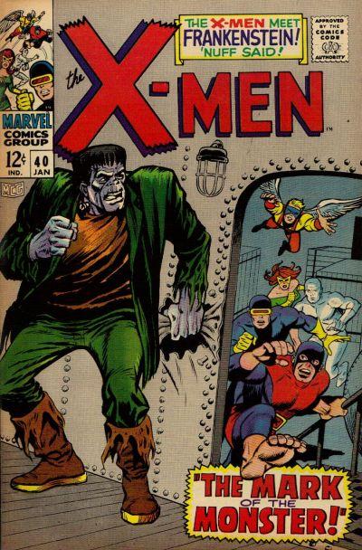 Cover for The X-Men (Marvel, 1963 series) #40