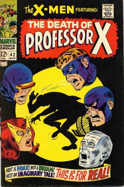 Cover for The X-Men (Marvel, 1963 series) #42