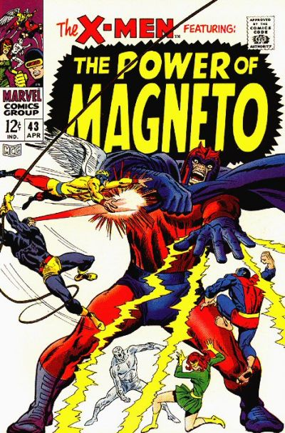 Cover for The X-Men (Marvel, 1963 series) #43