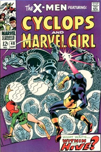 Cover for The X-Men (Marvel, 1963 series) #48