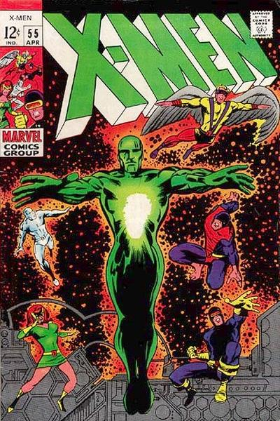 Cover for The X-Men (Marvel, 1963 series) #55