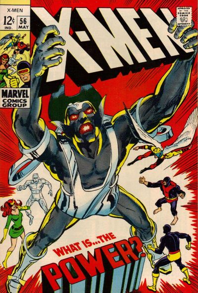 Cover for The X-Men (Marvel, 1963 series) #56