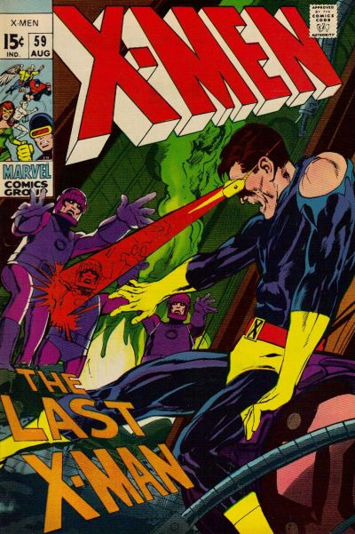 Cover for The X-Men (Marvel, 1963 series) #59 [Regular Edition]