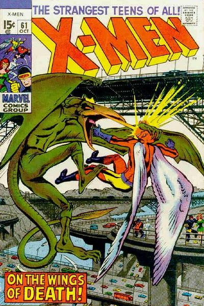 Cover for The X-Men (Marvel, 1963 series) #61 [British price variant]