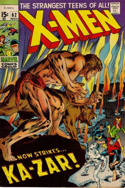 Cover for The X-Men (Marvel, 1963 series) #62