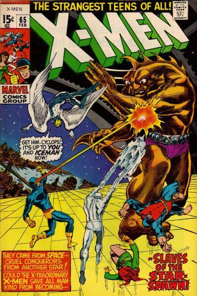 Cover for The X-Men (Marvel, 1963 series) #65