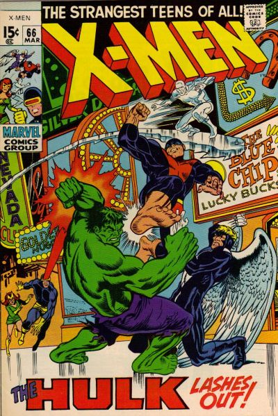 Cover for The X-Men (Marvel, 1963 series) #66
