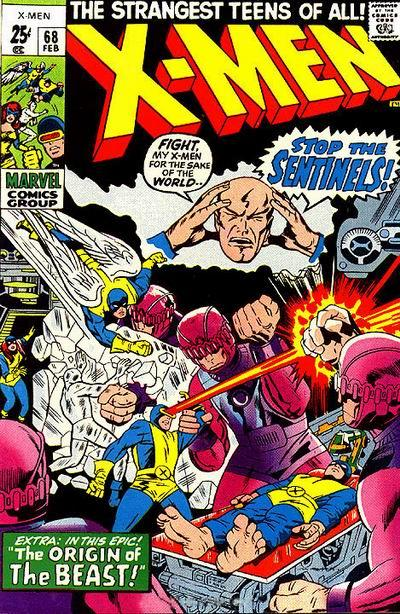 Cover for The X-Men (Marvel, 1963 series) #68