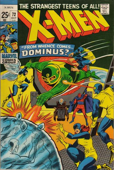 Cover for The X-Men (Marvel, 1963 series) #72