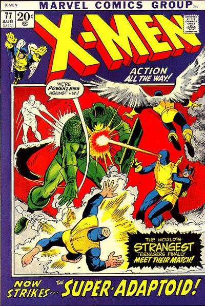 Cover for The X-Men (Marvel, 1963 series) #77