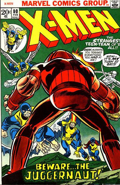 Cover for The X-Men (Marvel, 1963 series) #80