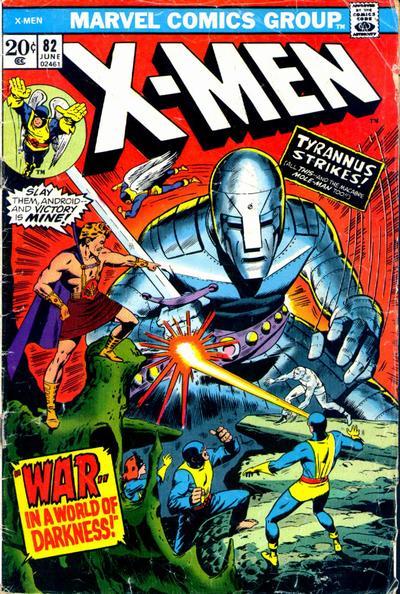 Cover for The X-Men (Marvel, 1963 series) #82