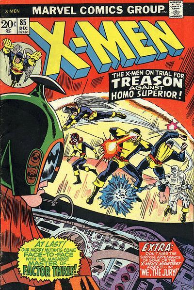 Cover for The X-Men (Marvel, 1963 series) #85