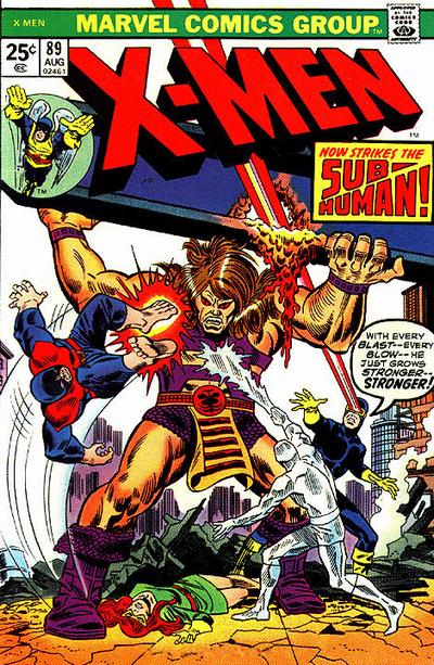 Cover for The X-Men (Marvel, 1963 series) #89