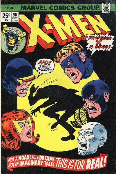 Cover for The X-Men (Marvel, 1963 series) #90