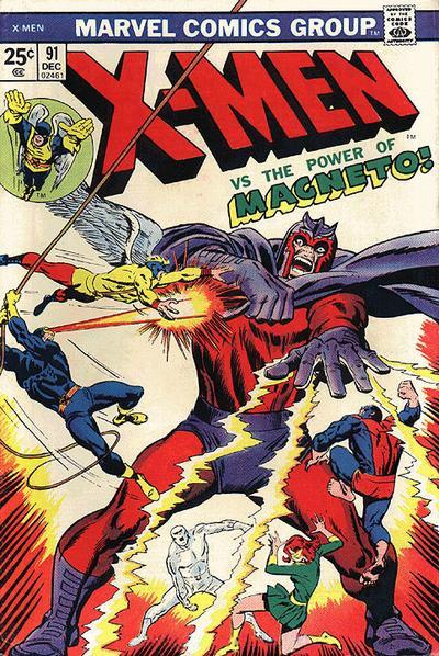 Cover for The X-Men (Marvel, 1963 series) #91