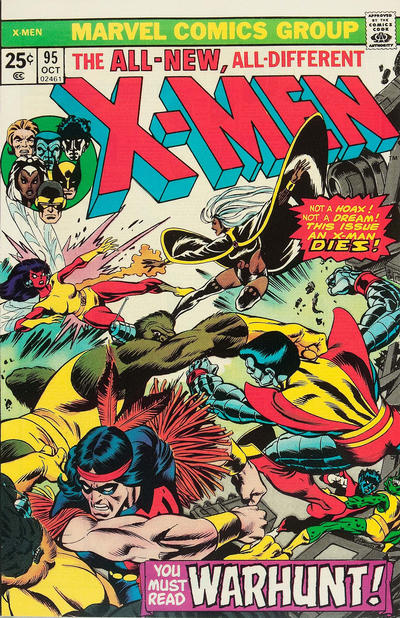 Cover for The X-Men (Marvel, 1963 series) #95