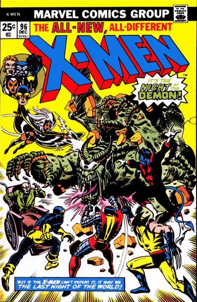 Cover for The X-Men (Marvel, 1963 series) #96 [Regular Edition]