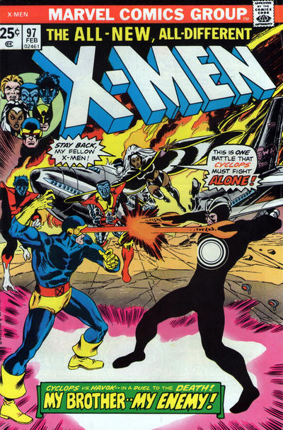 Cover for The X-Men (Marvel, 1963 series) #97 [Regular Edition]