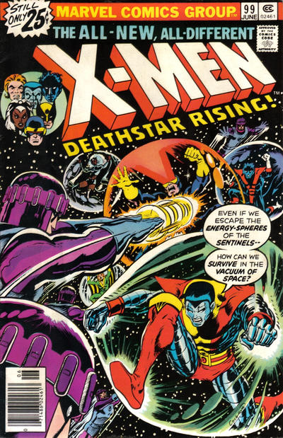 Cover for The X-Men (Marvel, 1963 series) #99 [British price variant]