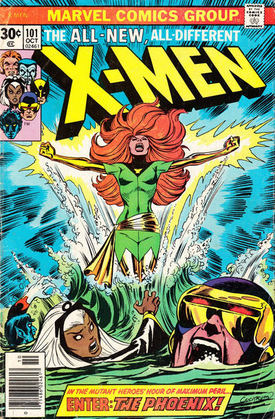 Cover for The X-Men (Marvel, 1963 series) #101 [British price variant]