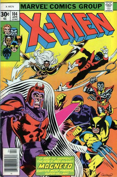 Cover for The X-Men (Marvel, 1963 series) #104