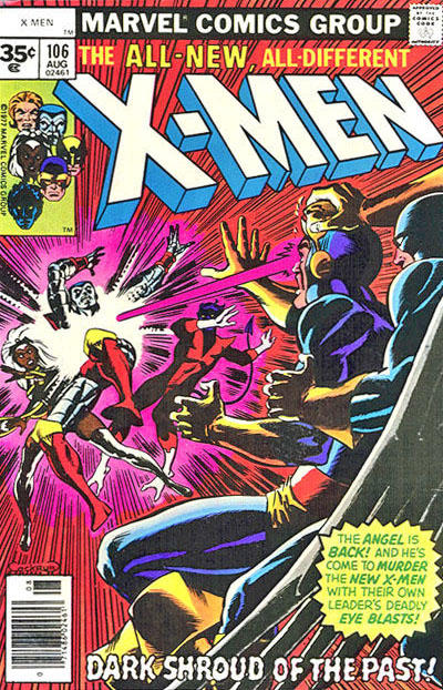 Cover for The X-Men (Marvel, 1963 series) #106 [35 cent cover price variant]