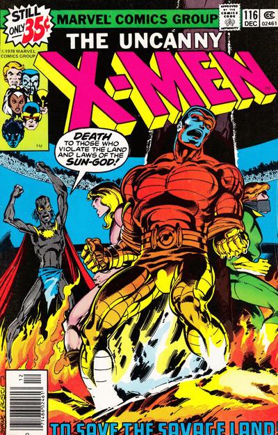 Cover for The X-Men (Marvel, 1963 series) #116 [Regular Edition]