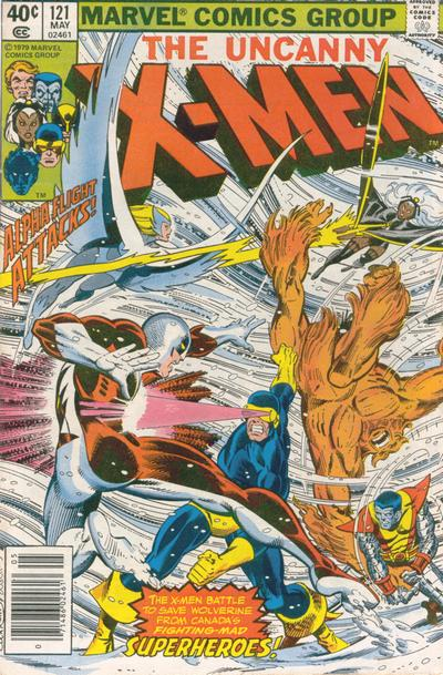 Cover for The X-Men (Marvel, 1963 series) #121