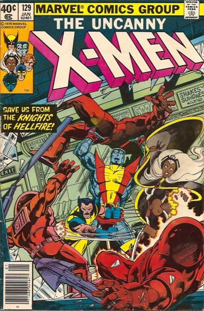 Cover for The X-Men (Marvel, 1963 series) #129 [Newsstand]