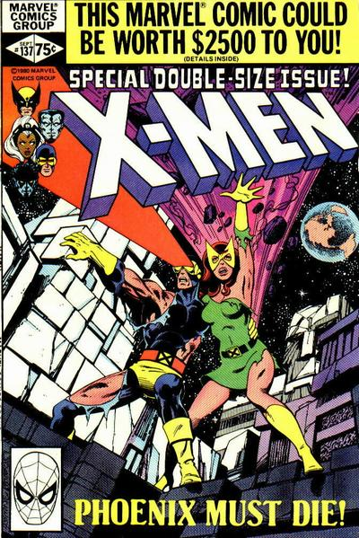 Cover for The X-Men (Marvel, 1963 series) #137 [Direct]