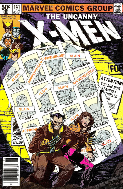Cover for The X-Men (Marvel, 1963 series) #141 [Direct]