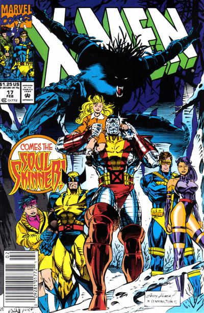 Cover for X-Men (Marvel, 1991 series) #17 [Direct Edition]