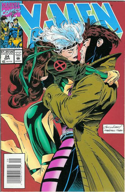 Cover for X-Men (Marvel, 1991 series) #24 [Direct Edition]
